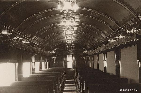 [Southern Pacific Railroad coach No. 1806)