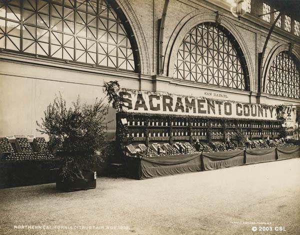 Northern California Citrus Fair, Nov. 1902