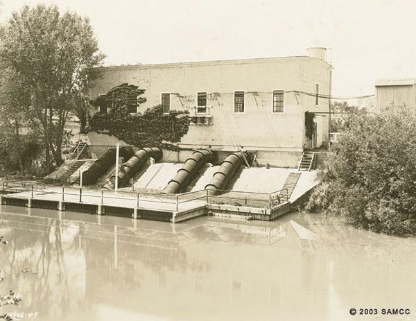 Pumping Plant of Natomas District 1000