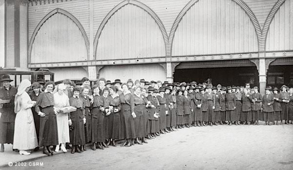[Group of women in nurse