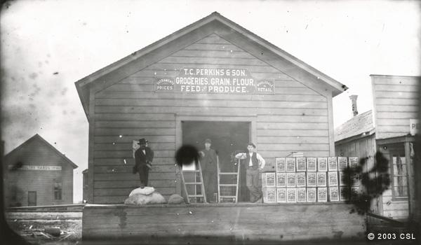 [T.C. Perkins & Son general merchandise store]