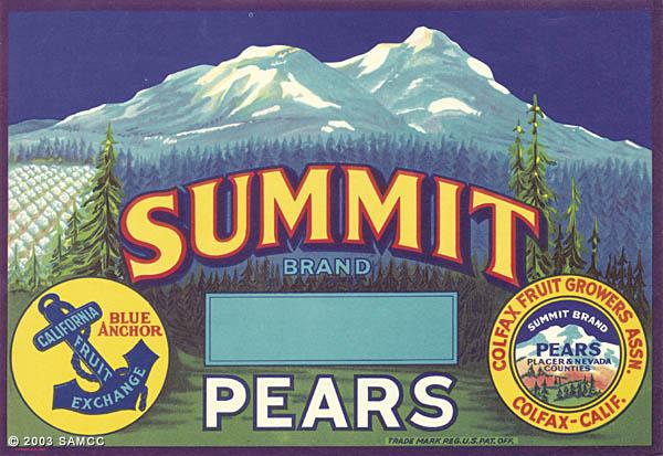 Summit Brand Pears