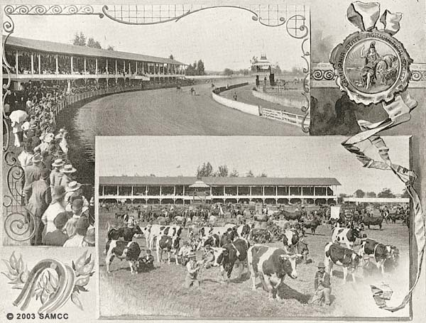 Old race track-Agricultural Park, 20th-23rd Sts. & H to D Sts.