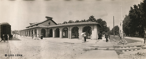 [Western Pacific Railway passenger  station at Sacramento]