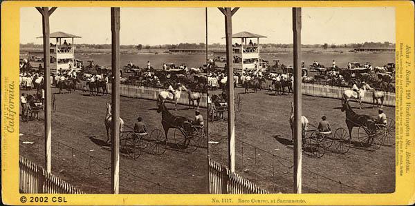 Race Course, at Sacramento. 1117