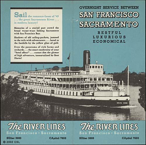 River Lines - San Francisco-Sacramento