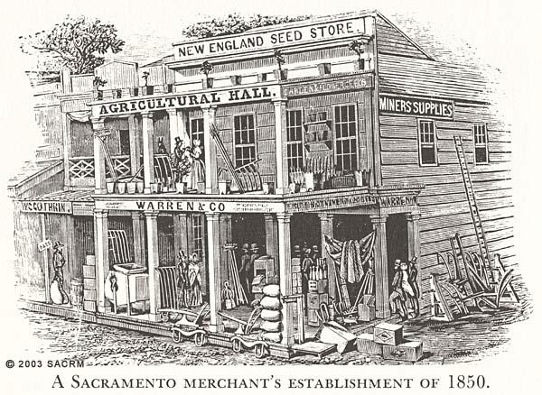 A Sacramento Merchant