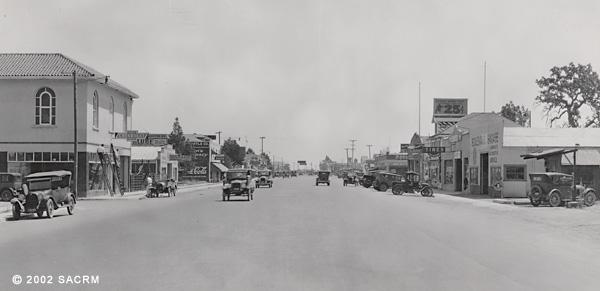 [Automobiles - North Sacramento - ca. 1927]