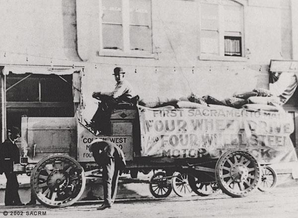 [Truck - Golden West Motor Company - Sacramento]