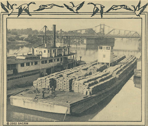 [Boats - Sacramento River - Southern Pacific Bridge]