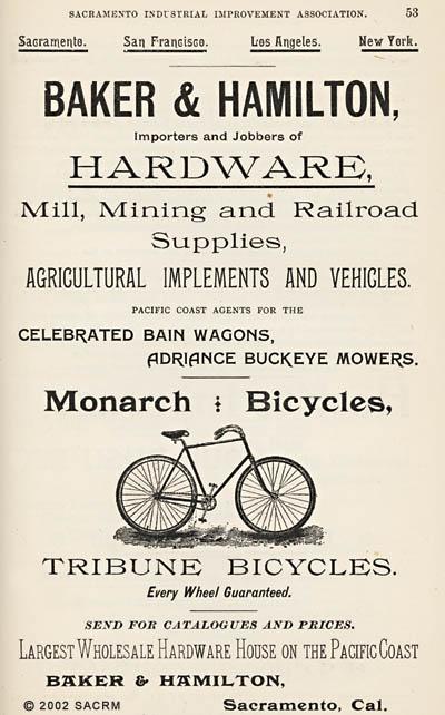 [Bicycles - Hardware - Sacramento]
