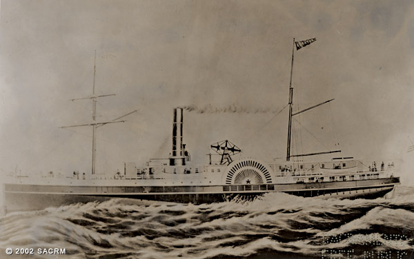 [Steamship SENATOR - Sacramento]