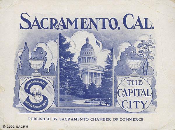 Sacramento, Cal. the capital city