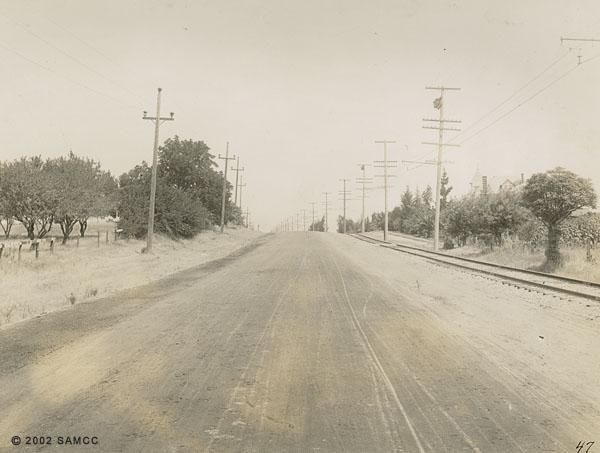Upper Stockton Road, City limits : photographic print